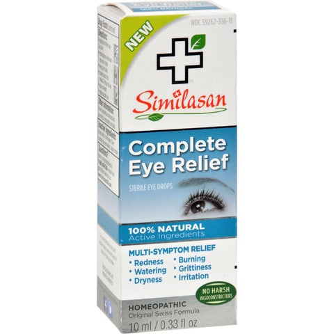 Similasan Eye Drops - Complete Relief - .33 Oz