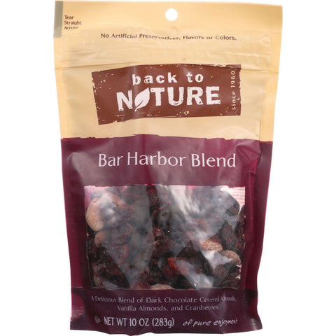 Back To Nature Nuts - Bar Harbor Blend - 10 Oz - Case Of 9