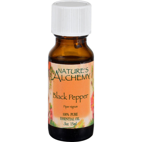 Nature's Alchemy Essential Oil - Black Pepper - .5 Fl Oz