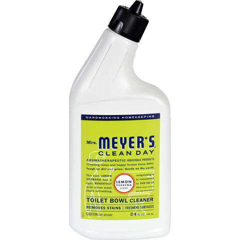 Mrs. Meyer's Toilet Bowl Cleaner - Lemon Verbena - 24 Fl Oz - Case Of 6