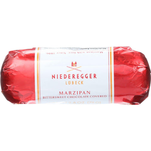 Niederegger Marzipan Loaf - Chocolate Covered - 2.6 Oz - Case Of 20