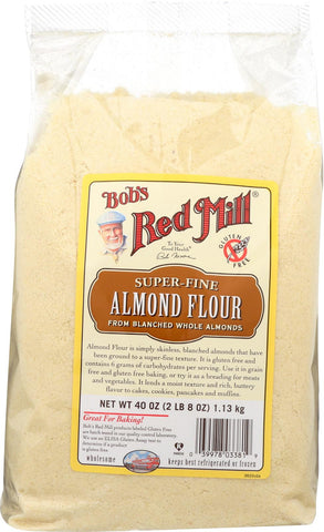 Bob's Red Mill Almond Flour - 40 Oz - Case Of 4