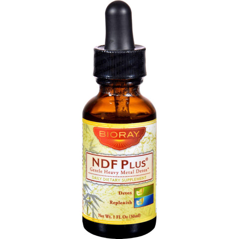 Bioray Ndf Plus - Heavy Metal Detoxifier - 1 Oz