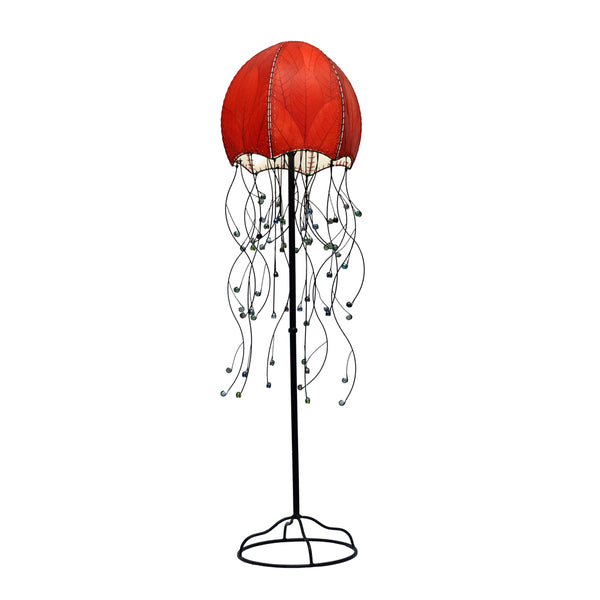 Jellyfish Lamp Red