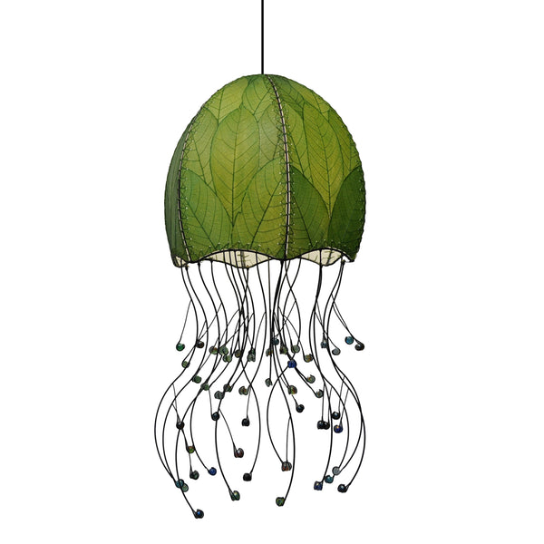 Jellyfish Hanging Lamp Green