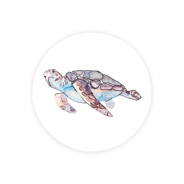 Absorbent Car Coaster - Sea Turtle