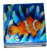 Capiz box - Clown fish