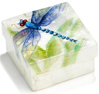 Capiz box - Dragonfly