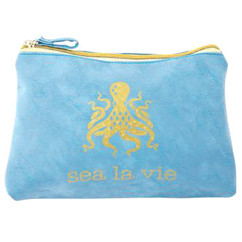 Sea la vie Octopus Cosmetic Bag
