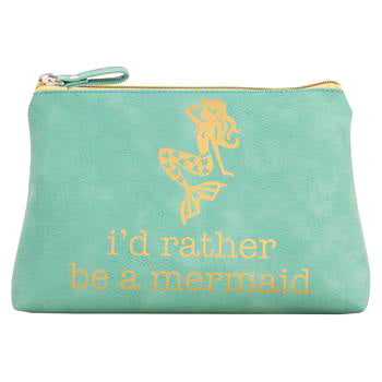 I'd Rather be a Mermaid Cosmetic Bag