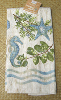 Ocean Tide Terry Towel