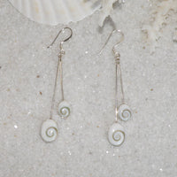 Eye of Shiva Dangle Earrings 1423