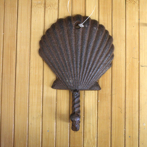 Scallop Shell Metal hook