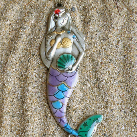 Mermaid Car Charm