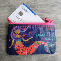 Mermaid Coin or Gift Card Holder Seas the Day!