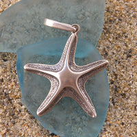 Sterling Silver Polished Starfish Pendant