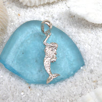 Sterling silver Mermaid Pendant (two sided)