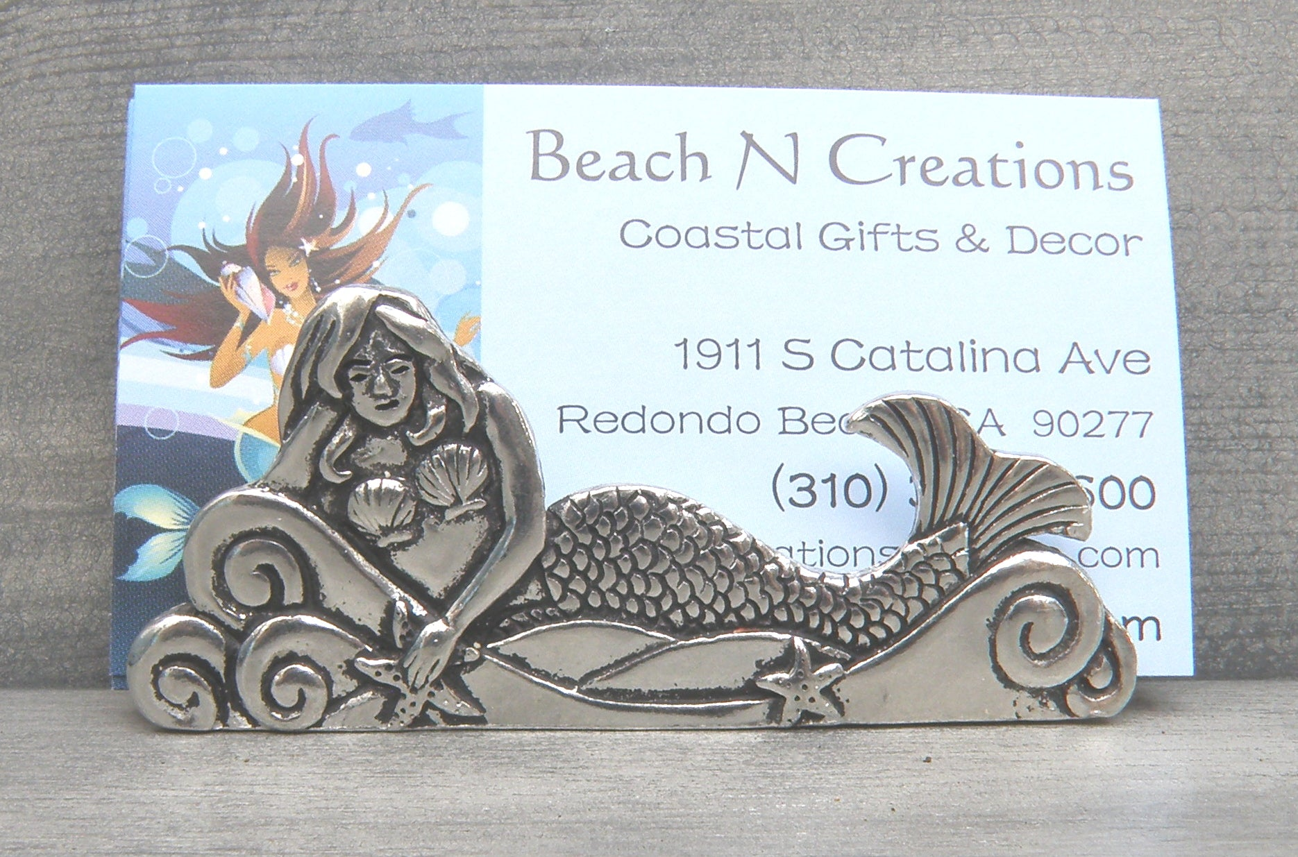 Mermaid Business Card Holder