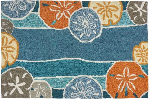 Indoor - Outdoor Rug or Floor Mat - Beachcomber