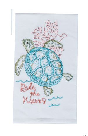Coastal Flour Sack Towel - Sea Turtle