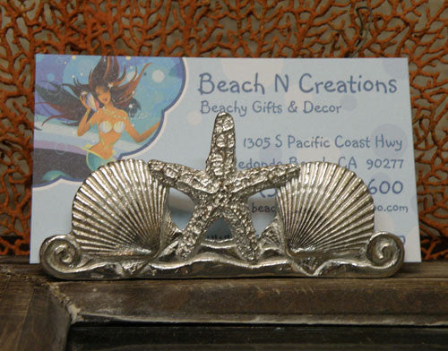 Starfish Business Card Holder