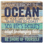 Absorbent Coaster - Lessons from the Ocean