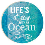 Absorbent Car Coaster - Ocean Breeze