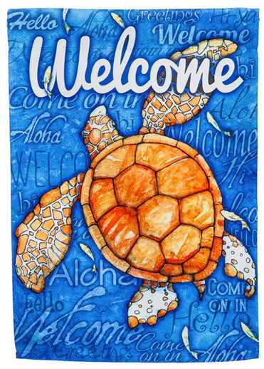 Flag- Full size - Sea Turtle