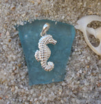 Sterling silver Seahorse Pendant Charm
