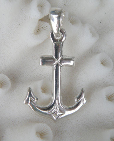 Sterling silver Anchor Pendant Charm