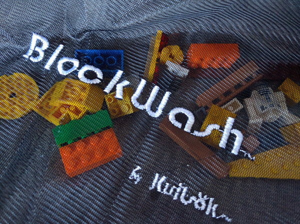 Blockwash Designed to Sanitize LEGO, Duplo & Mega, Wash Used Lego Blocks, Washing Machine Safe, Features Zipper Locks,Daycare Cleaning Supplies.