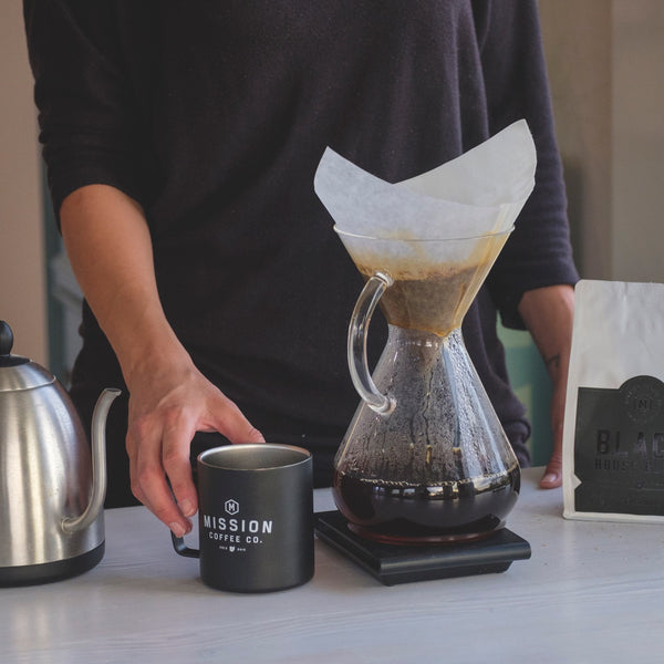 Chemex Glass Handle 8 Cup Brewer