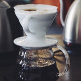 Hario V60-01 Ceramic White Dripper