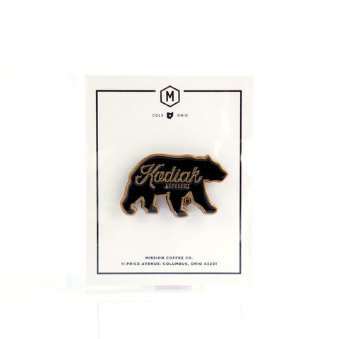 MISSION KODIAK BEAR PIN