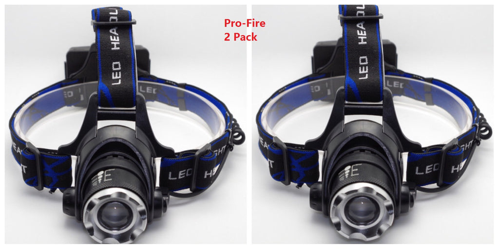 2 Pack Pro Fire Headlamp V3 Outdoor Extremist