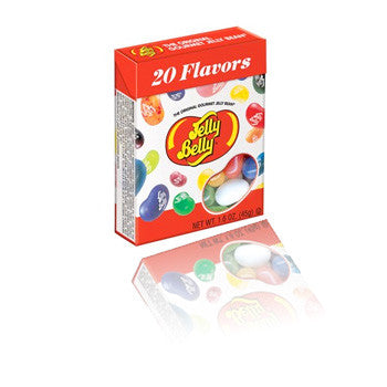 Jelly Belly box - 20 flavours