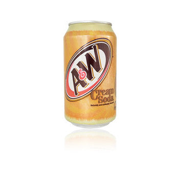 A&W Cream Soda Can