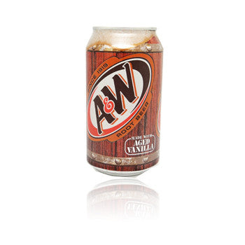 A&W Root Beer Can