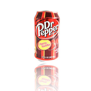 CHERRY VANILLA Dr Pepper Can