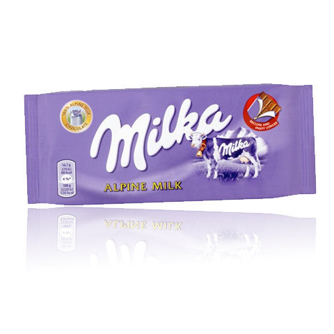 MILKA Chocolate -  Alpine Milk