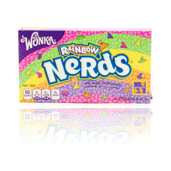Wonka Rainbow Nerds - theatre box 141.7g