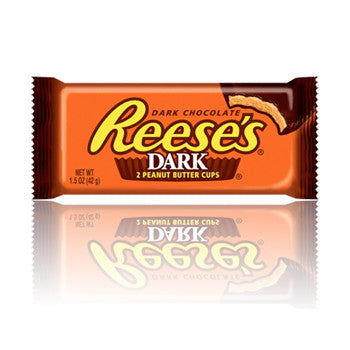 DARK CHOCOLATE Reese's Peanut Butter Twin Pack
