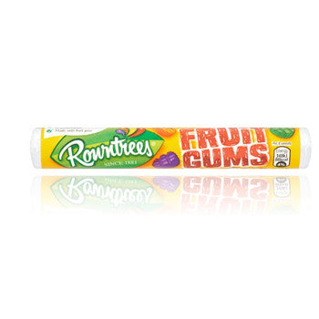 UK Rowntrees Fruit Gum rolls