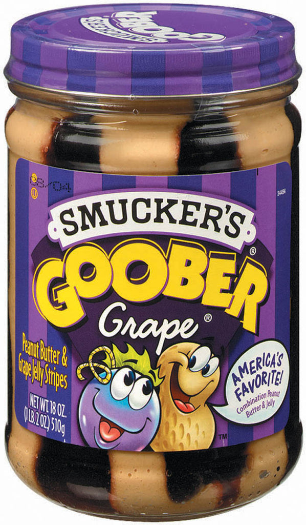Goober Grape - Peanut Butter and grape jelly