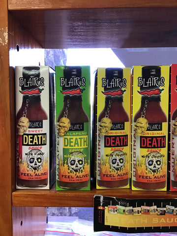 Blair's Jalapeño Death hot sauce