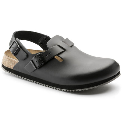 Birkenstock Professional, Tokio, Super Grip Sole, Regular Fit, Leather, Black Clogs Birkenstock Black 35