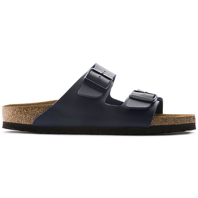 Birkenstock Classic, Arizona, Smooth Leather, Regular Fit, Blue Sandals Birkenstock Classic