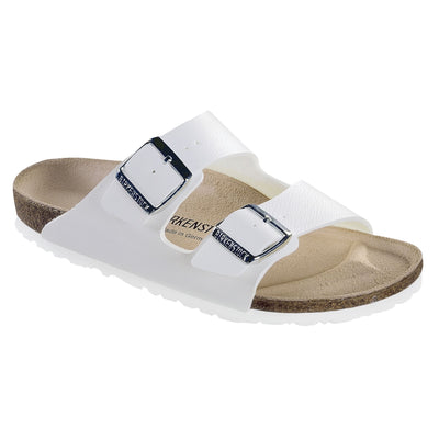 Birkenstock Classic, Arizona, Birko-Flor, Regular Fit, White Sandals Birkenstock Classic White 35