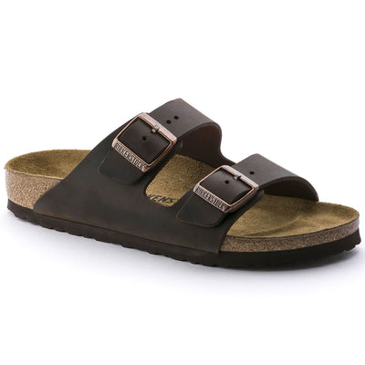 Birkenstock Classic, Arizona, Natural Leather, Regular Fit, Habana Sandals Birkenstock Classic Habana 36