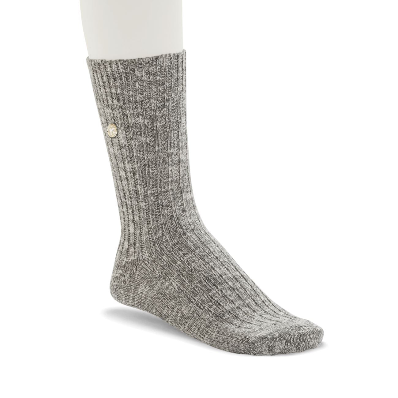 Birkenstock Socks, Fashion Slub Women, Gray White Socks Birkenstock Socks Gray White 39-41